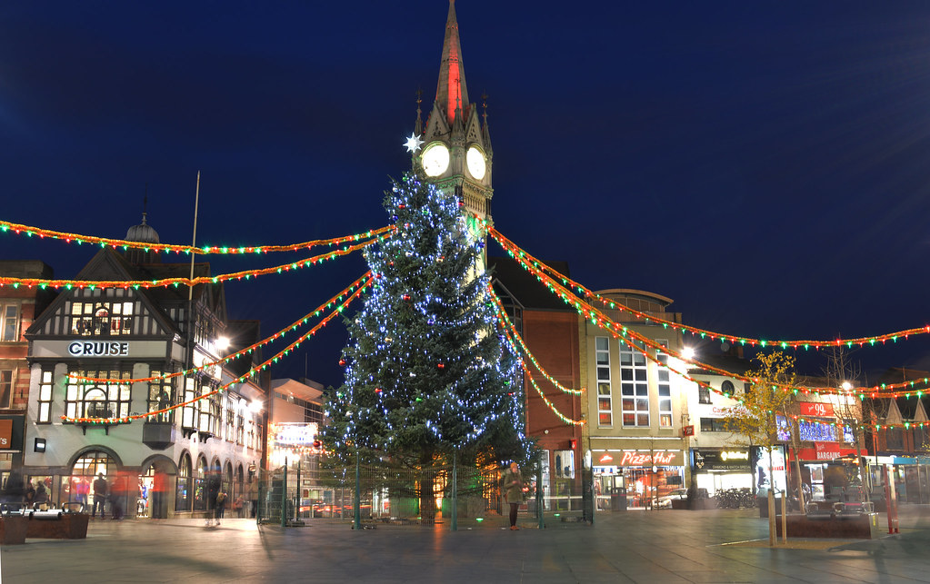 Leicester Christmas Tree | Ian Johnson | Flickr