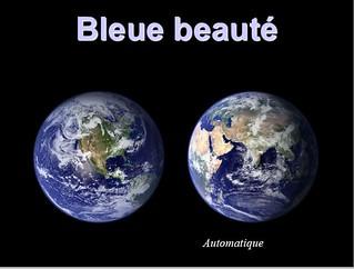 Bleue beauté