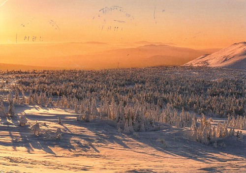 Landscape in the Middle Ural, Perm, Russia by Walter Hutter