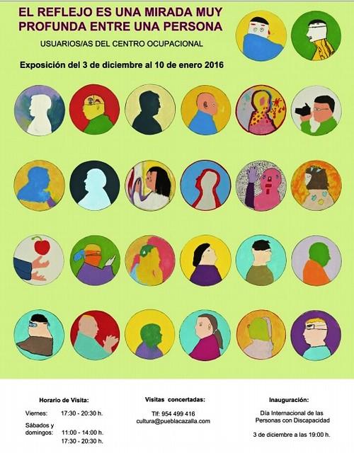 AionSur 23073166359_52801c6501_z_d Exposición de creación artística en La Puebla para celebrar el Día Internacional de las Personas con Discapacidad La Puebla de Cazalla Provincia