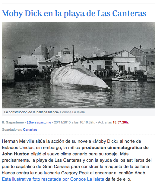 moby dick news Esteban Ruiz