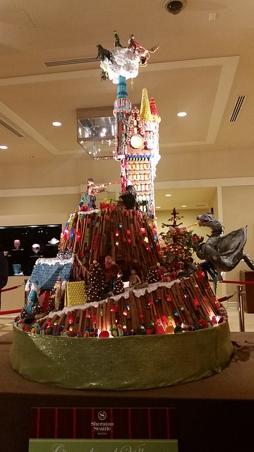 Sheraton Seattle Harry Potter Gingerbread Village 2016