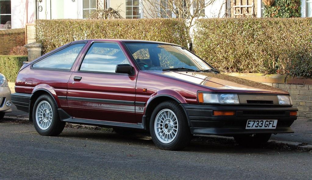 E733 Gfl 1 1987 Toyota Corolla Gt Twin Cam 16 Coupe