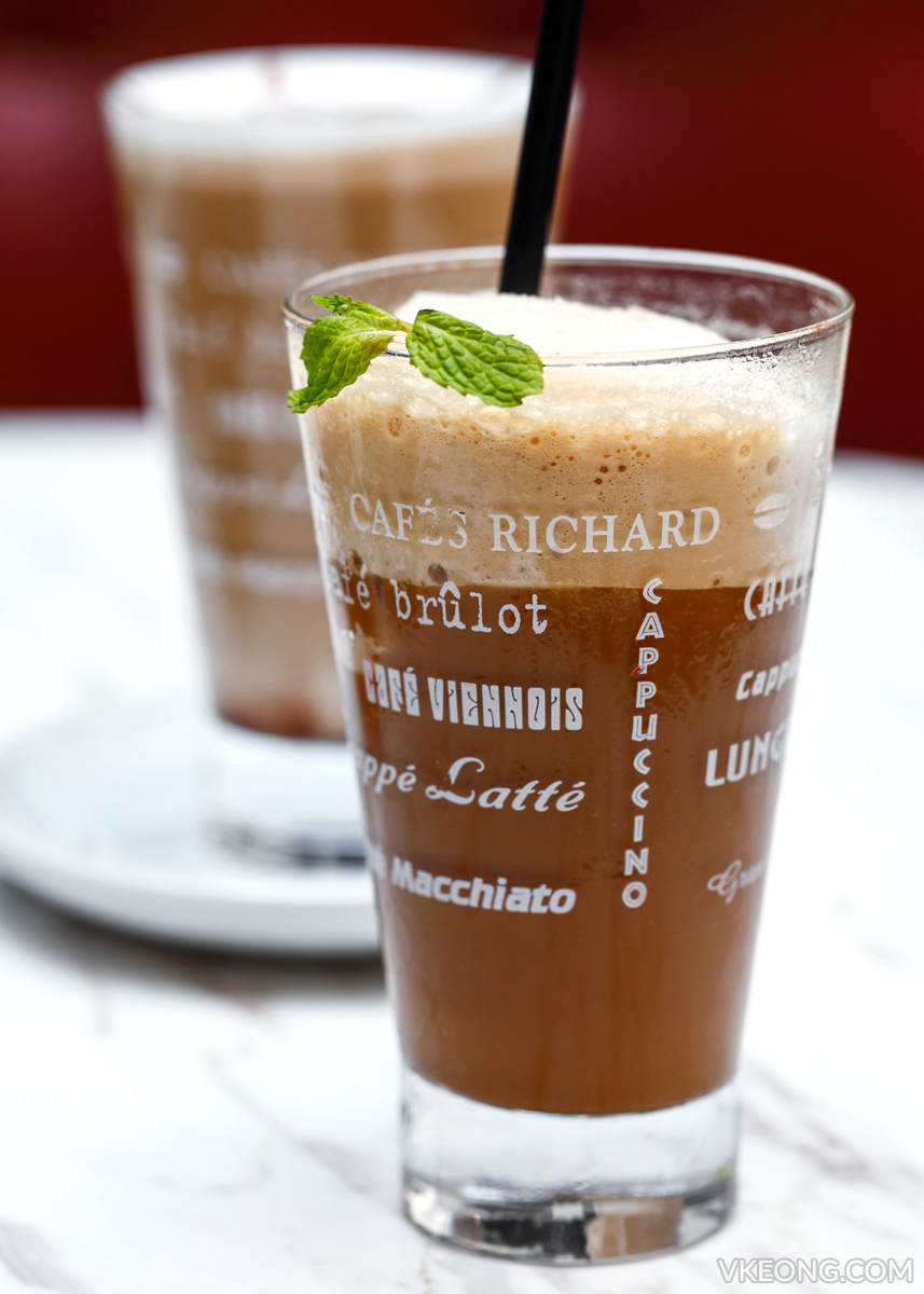 Cafes Richard Genting Kawa Mint Coffee Mocktail