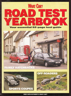 What Car? Road Test Yearbook Oct. 1992 - Hoxne Village Store, then | by Spottedlaurel