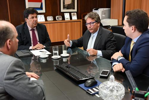 17/01/2017 Reunião na sede do Ministério da Educação.