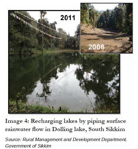 Recharging lakes