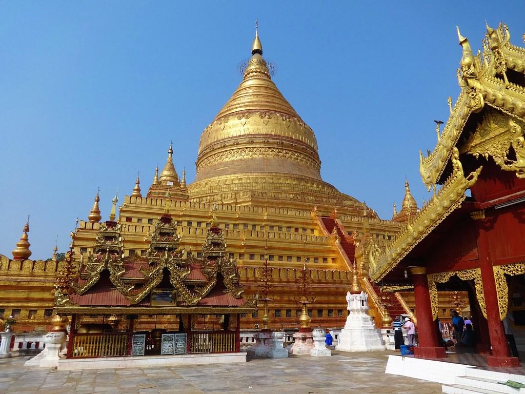 Shwezigon Pagoda in Nyaung-U