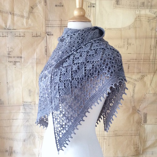 Golden Valley Shawl by Bonnie Sennott