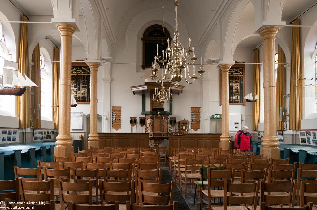 Marken Hervormde Kerk interieur-2 | Landleven (Irma Lit) | Flickr