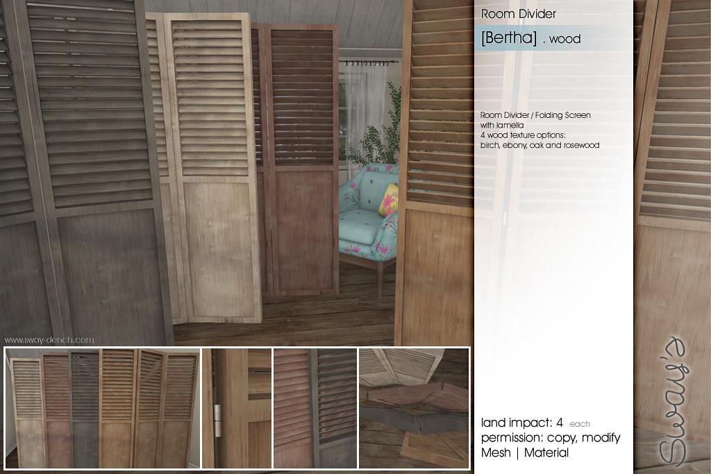 ... Swayu0027s [Bertha] Room Divider   FLF   By Sway Dench / Swayu0027s
