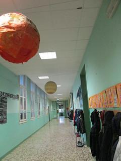 8a il Sistema solare nel corridoio