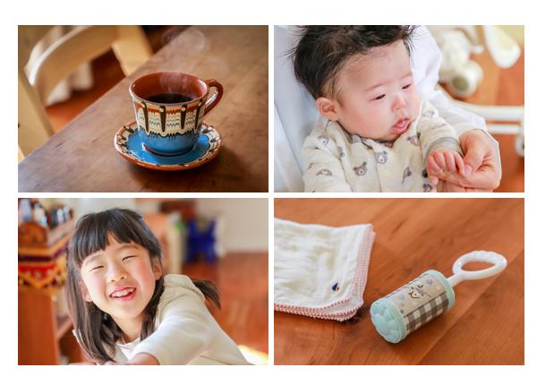家族の写真 自宅への出張撮影 お雛様 女の子の節句 くつろいで自然な表情・笑顔 愛知県瀬戸市
