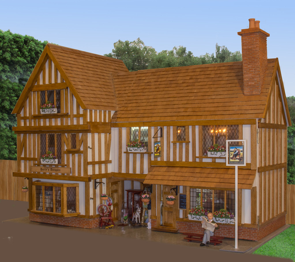 Tudor Dolls House With Ps Background Img 1263 Edited 5 Tri Flickr