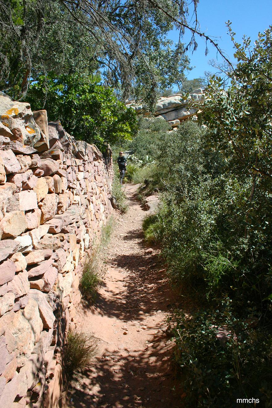 ruta por el Garbí en la sierra Calderona