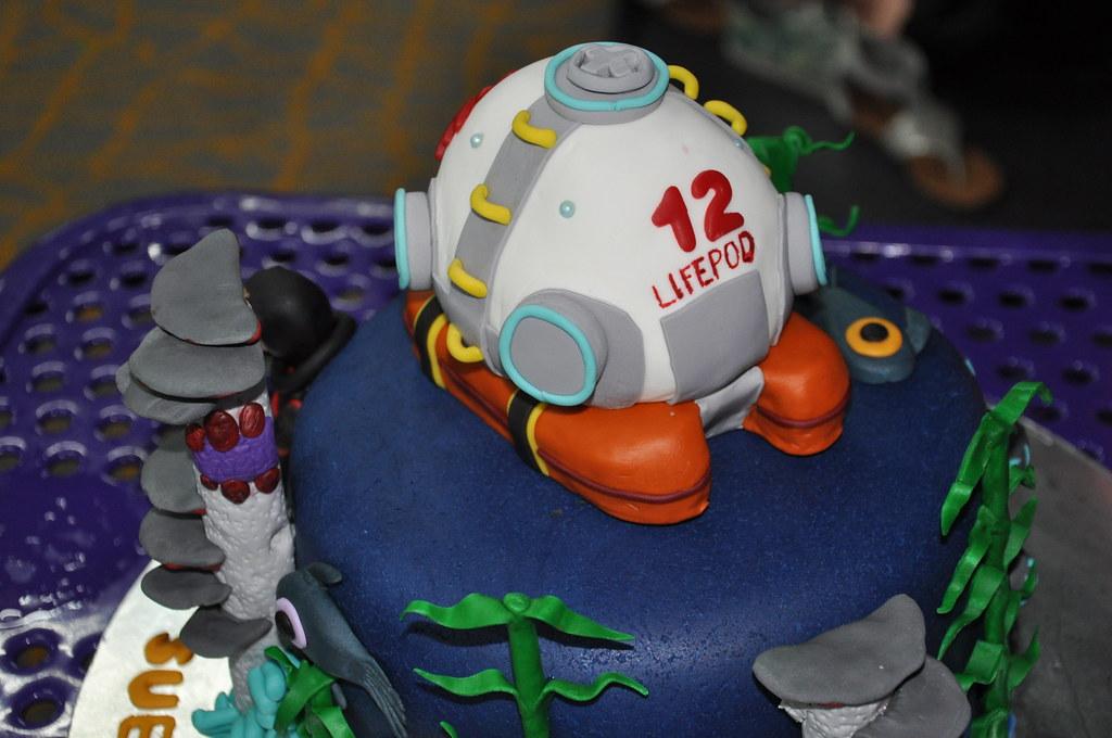 Subnautica Game Cake 22 Subnautica Cake Designed From