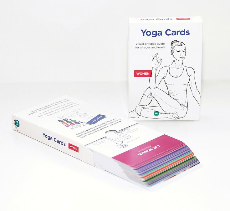 Practical Guidelines For Practical Fitness Solutions: Fitness Motivation : Yoga Cards Is A Visual Practice Guide
