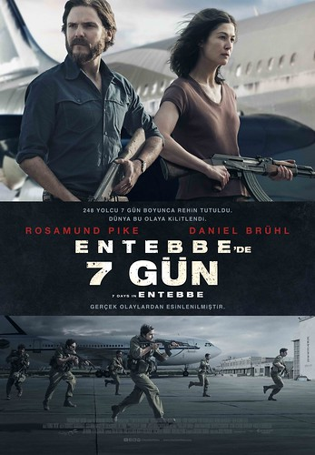 Entebbe'de 7 Gün - 7 Days in Entebbe (2018)