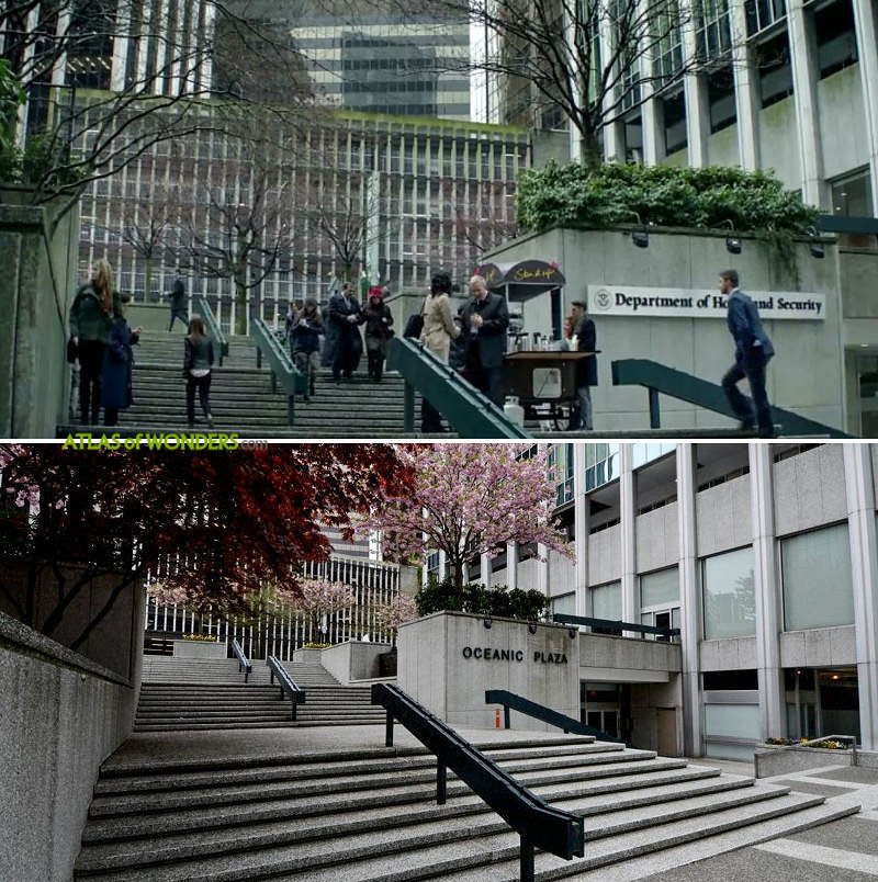The Crossing filming Vancouver