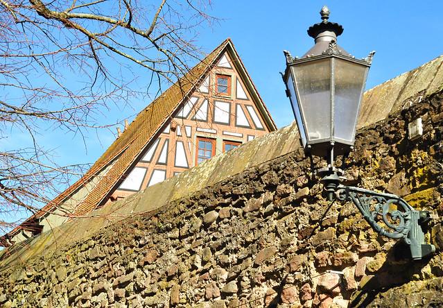 Ladenburg am Neckar ... März 2018 ... Foto: Brigitte Stolle