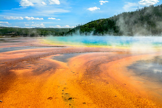 2017 USA Mountain States - Yellowstone NP, WY / Grand Prismatic Spring | by dconvertini