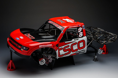 Mini Trophy Truck >> Losi Baja Rey TSCO Racing 10th scale body project Trophy T… | Flickr