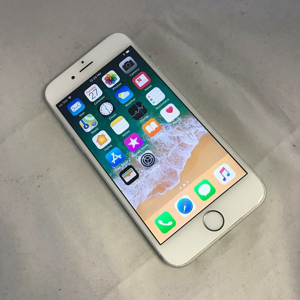 Apple Iphone 6 128gb Silver Unlocked A1549 Cdma G Flickr 6s Gsm