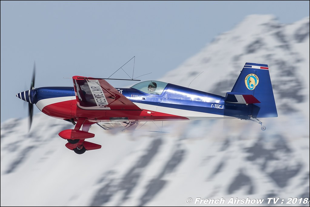 Equipe de voltige de l'Armée de l'Air 2018 , Extra 330SC , EVAA , Fly Courchevel 2018 - Altiport Courchevel , Meeting Aerien 2018