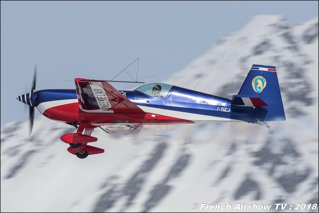 Equipe de voltige de l'Armée de l'Air 2018 , Extra 330SC , EVAA , Fly Courchevel 2018 - Altiport Courchevel , Meeting Aerien 2018