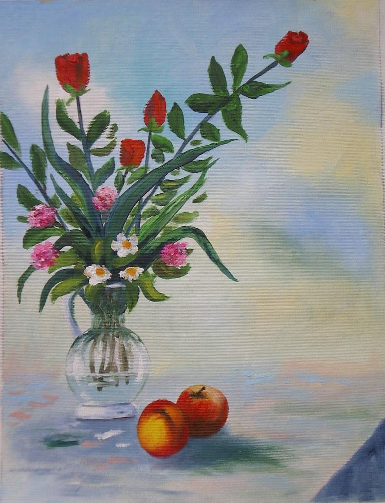 ... Vaso Di Fiori Con Frutta | By Renoil L.