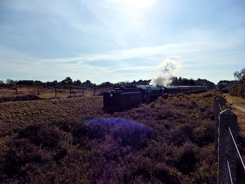 North Norfolk steam train