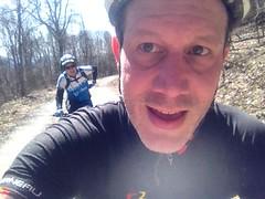 Me and J Climbing