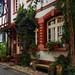 Petite rue d'Heppenheim (Allemagne)