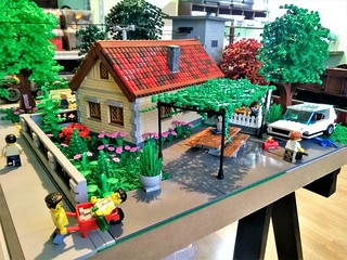 Village diorama 2018 - 1 | by monsinjor - Lego MOCs