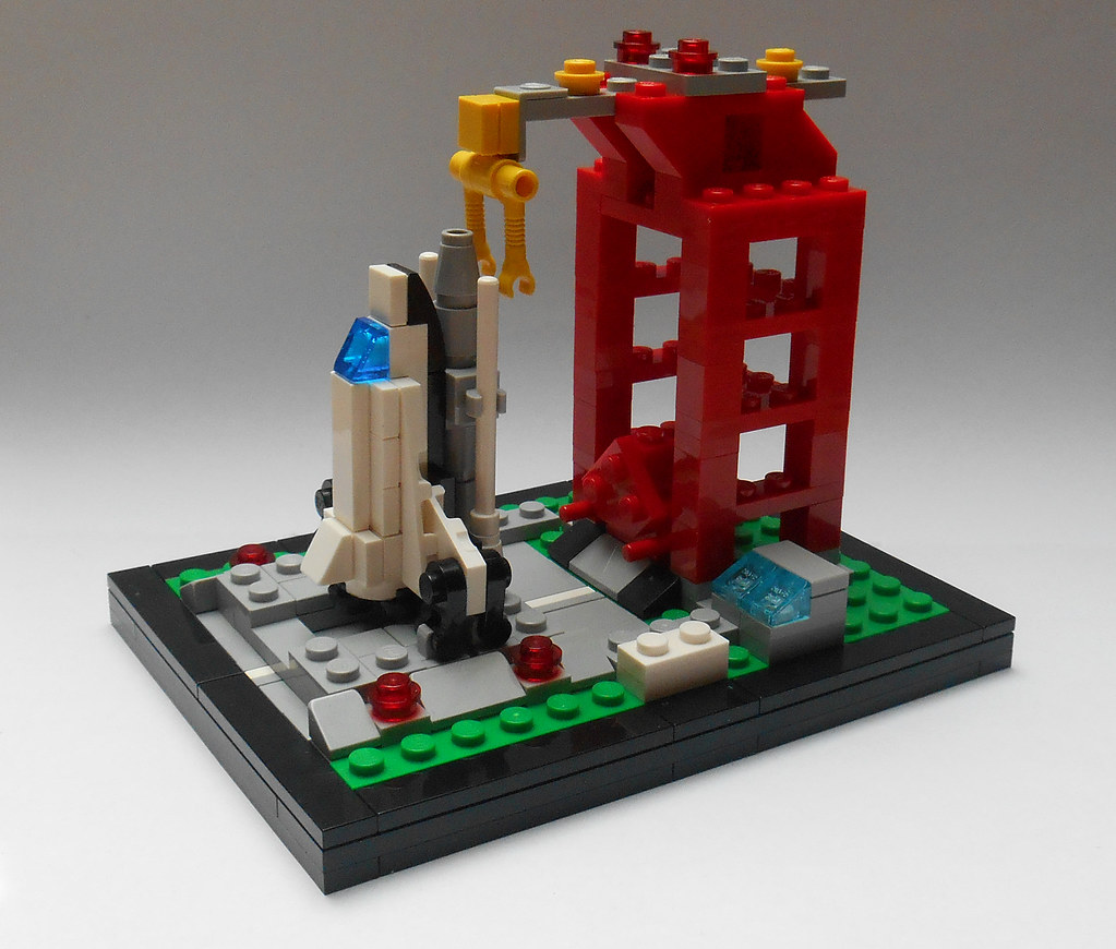 lego space shuttle launch pad 6339 - photo #23