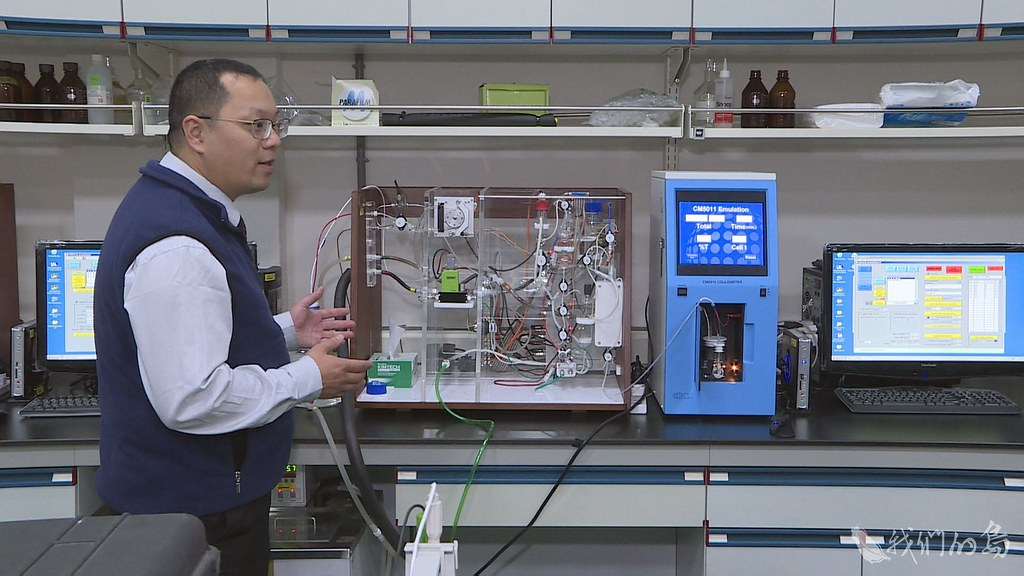 946-2-13國家實驗研究院台灣海洋科技研究中心與中山大學的研究團隊,與日本進行跨國研究海洋酸化。