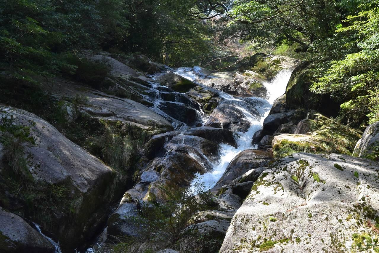 白谷雲水峡・飛流落しの滝