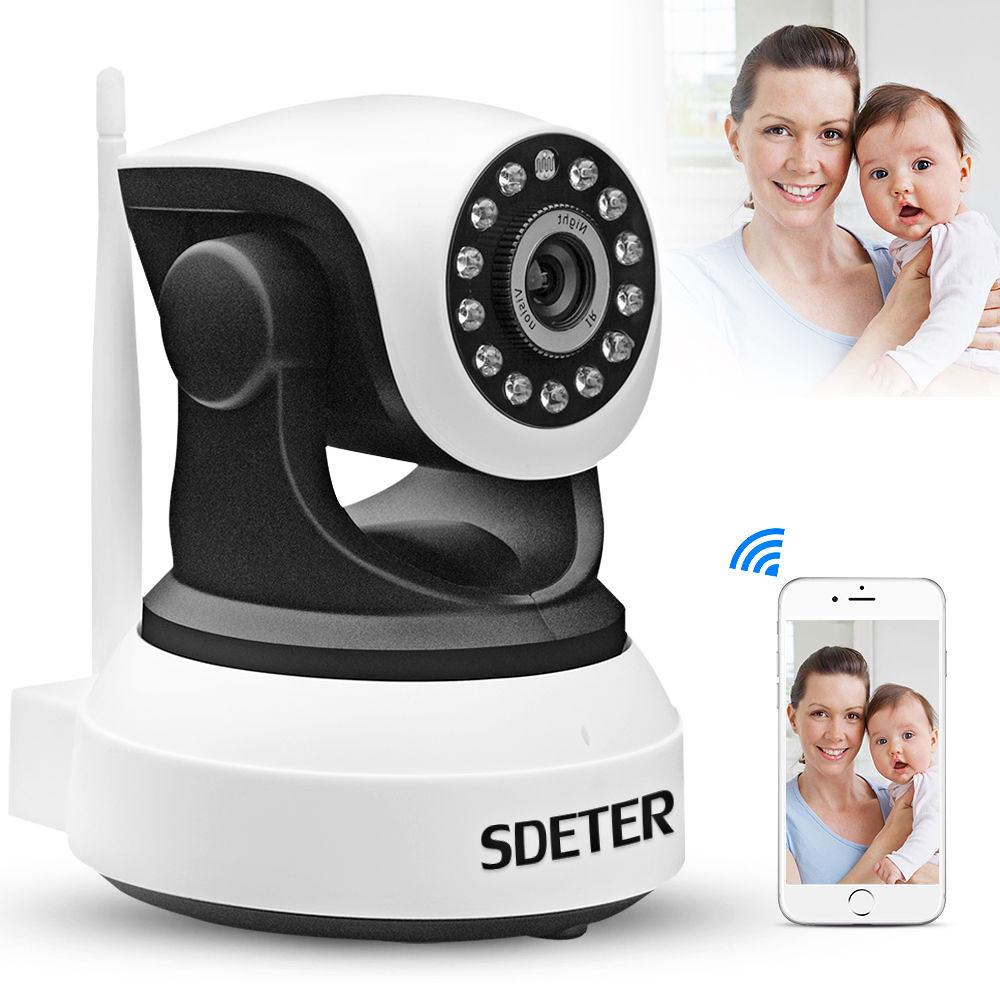 Wireless Pan Tilt 720P Security Network CCTV Camera Night Vision WIFI Webcam