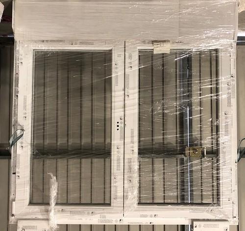 Oferta ventanas k merling solven de pvc blancas oferta for Cristaleria benissa
