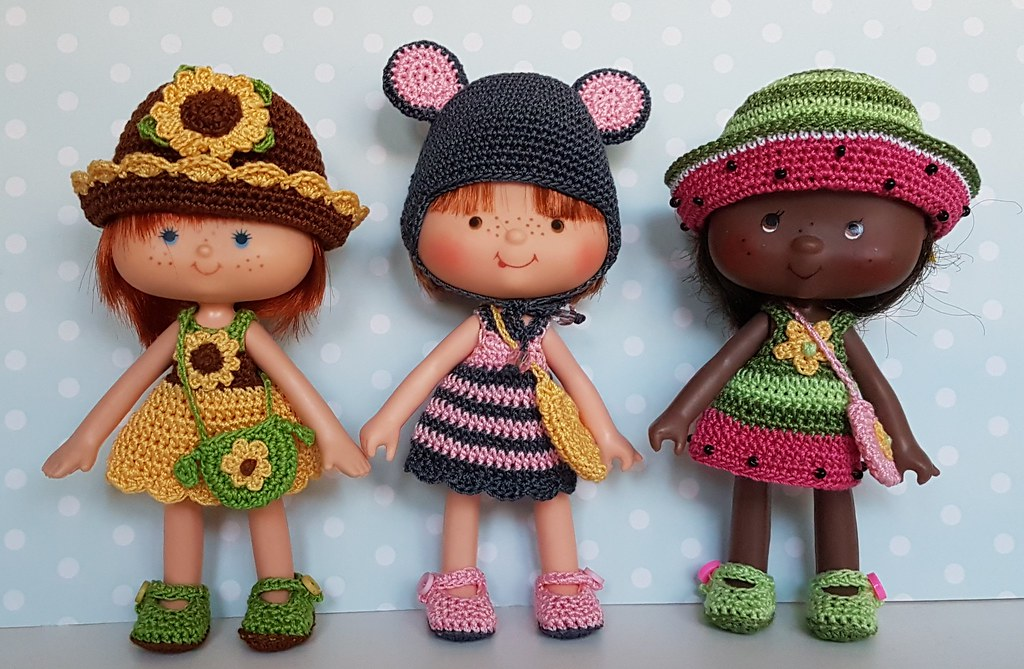 New Strawberry Shortcake Outfits Designed And Handmade By Flickr