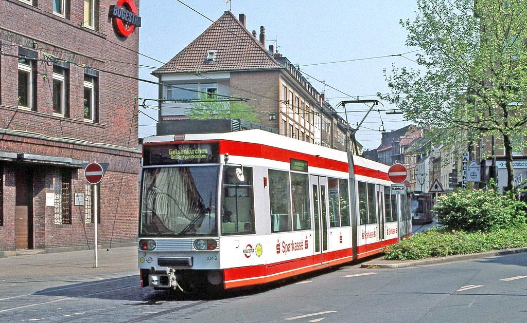 Bogestra Bochum Gelsenkirchen 404 In Hauptstrasse Outs Flickr