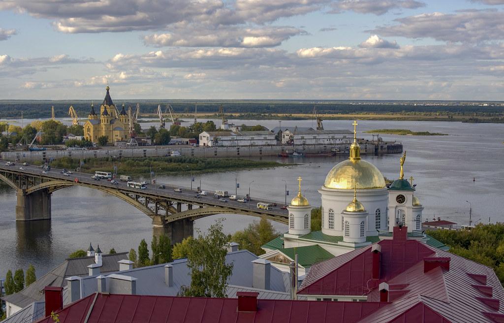 Нижний Новгород. Стрелка