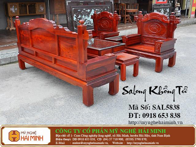 SAL5838b Salong Khong Minh do go my nghe hai minh
