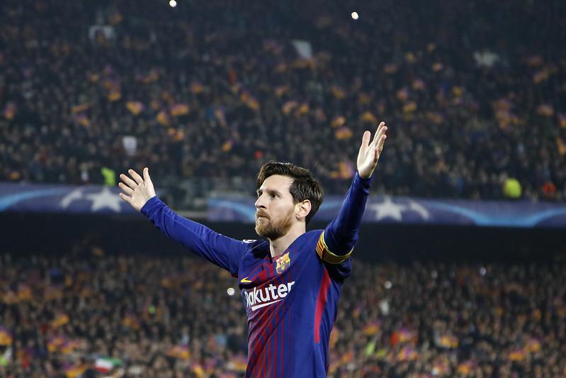 阿根廷球星Lionel Messi的魅力無法擋。(達志影像資料照)