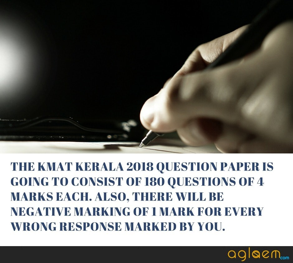 KMAT Kerala 2018 Question Paper Available for June Exam- Get Details Here  %Post Title, %Post Category, AglaSem
