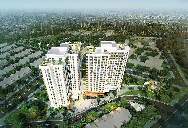 Phối cảnh dự án căn hộ Thủ Thêm Garden quận 9