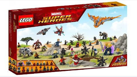 Lego Marvel Infinity War The War Of Wakanda 75487 Set
