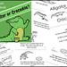 Science Mini-Book: Alligator or Crocodile