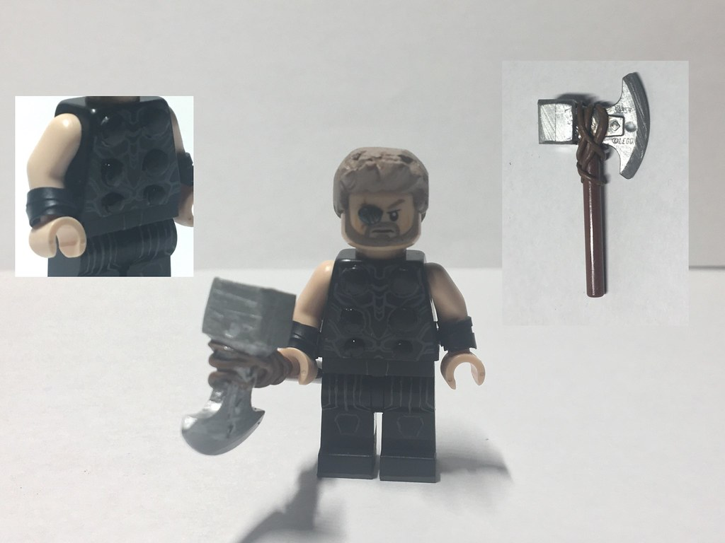 Custom Lego Avengers Infinity War Thor Odinson The Eyepa Flickr