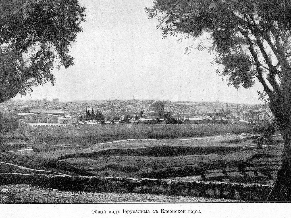 Изображение 68: Общий вид Иерусалима с Елеонской горы.